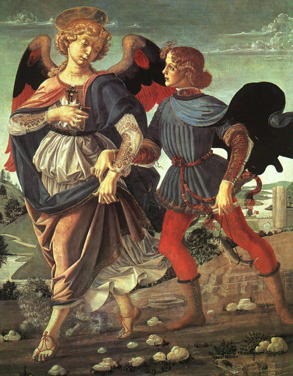 Angel raphael and tobias