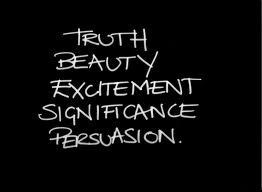 Truth Beauty Persuasion
