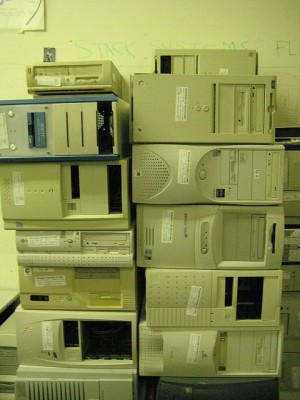 Stacks of Computers