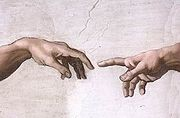 180px-Hands_of_God_and_Adam